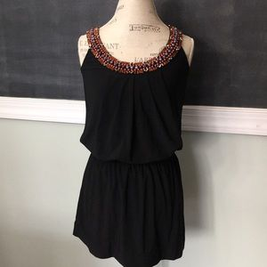 White House Black Market beaded dress XXS